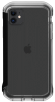 ELEMENT CASE IPHONE 11 RAIL- CLEAR/ SOLID BLACK